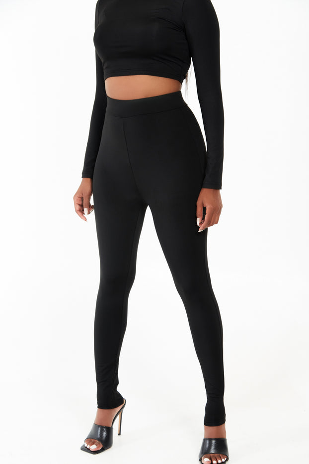 Stretch Co-ord Legging Set