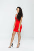 Red Bandage Bodycon Mini Dress
