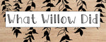 Whatwillowdid