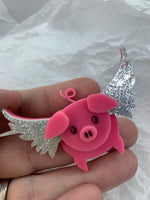 Pigasus mini brooch