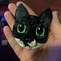 Custom pet brooch