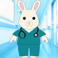 Kris the Healthcare Bunny - Pre-Order