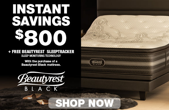 Save $800 Beautyrest Black Mattresses | Columbus Day Sale