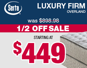 Serta Luxury Firm Mattresses | Veterans Day Sale