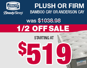 Beauty Sleep Plush and Firm Mattresses | Columbus Day Sale
