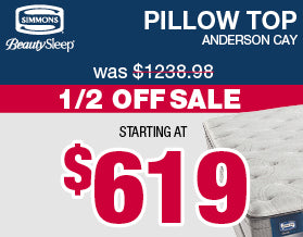 Beautysleep Pillowtop Mattresses | Columbus Day Sale