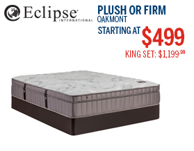 Eclipse Oakmont Mattress Deal