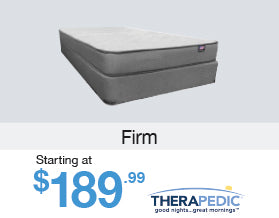 Holiday Coupon Sale - Therapedic Firm Mattress