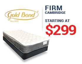 Gold Bond Mattress Presidents' Day Mattress Sale