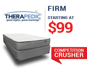 Therapedic Firm Mattress Presidents' Day Mattress Sale
