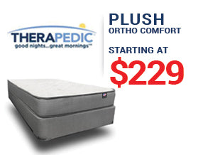 Therapedic Plush Mattress Presidents' Day Mattress Sale