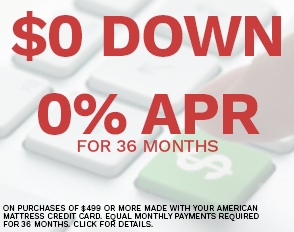 $0 Down 0% APR for 36 Months