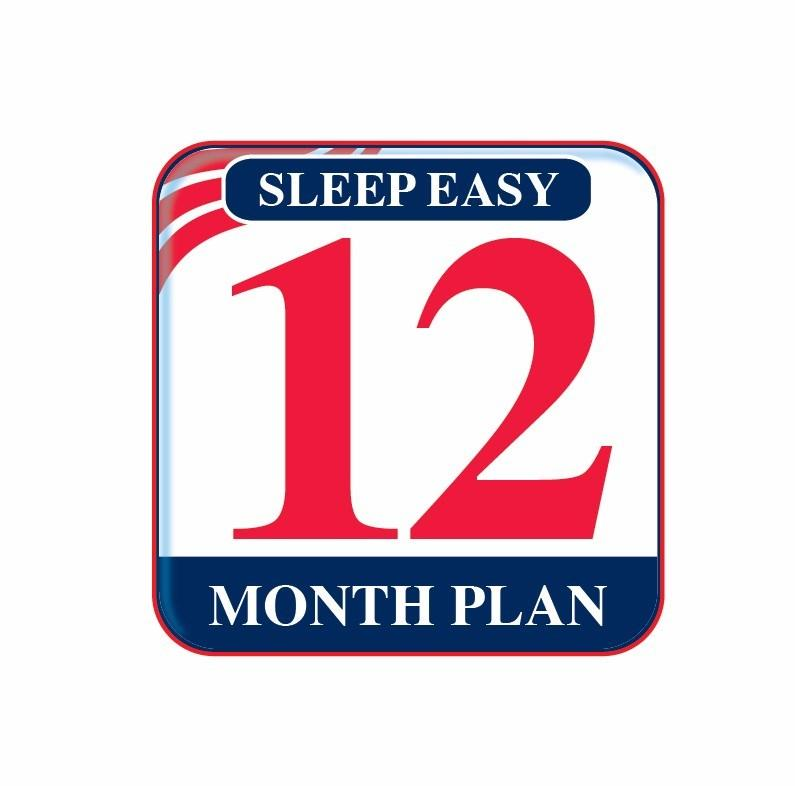 12 Month Sleep Easy Guarantee