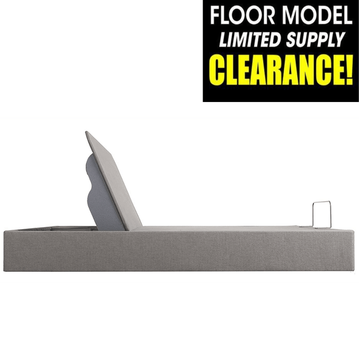 Tempur-Pedic UP Adjustable Base Clearance