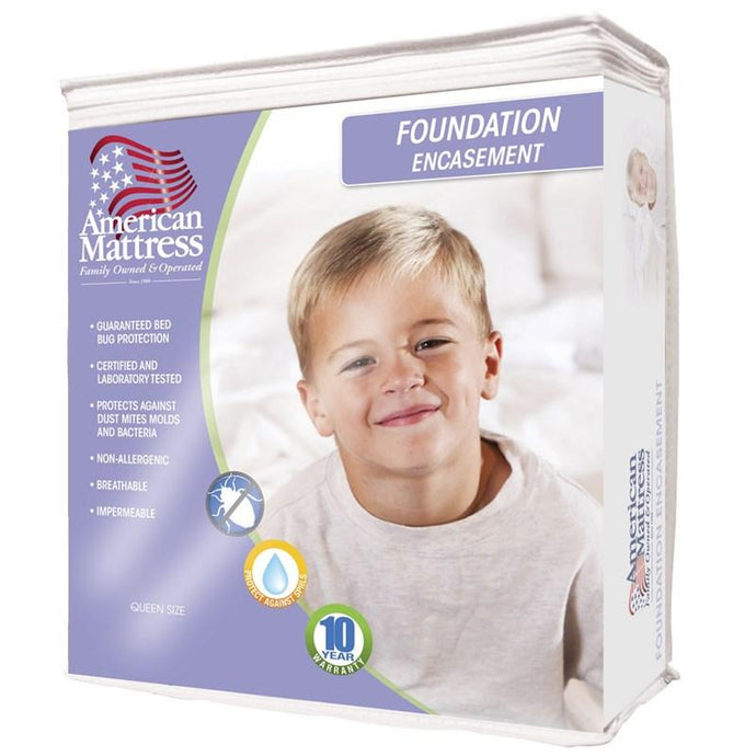 American Mattress Box Spring Protector-Mattress Cover-American Mattress