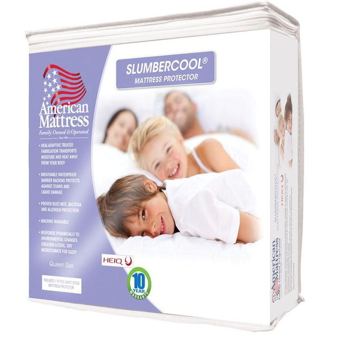 American Mattress Slumber Cool Mattress Protector-Mattress Cover-American Mattress