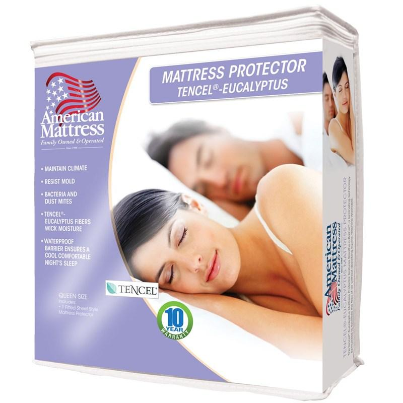 American Mattress Tencel Mattress Protector-Mattress Cover-American Mattress