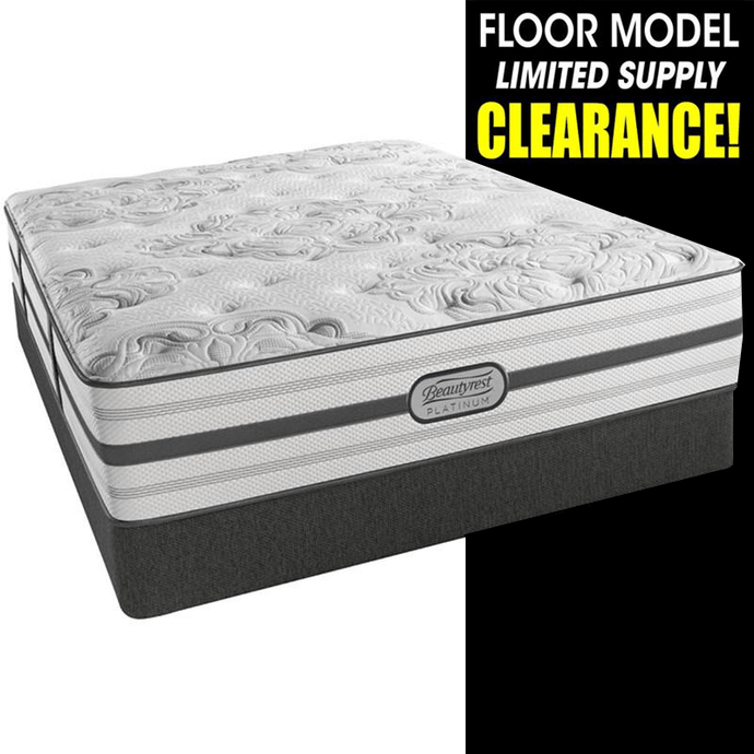 Clearance Beautyrest Platinum Khloe Plush Mattress Mattress Beautyrest