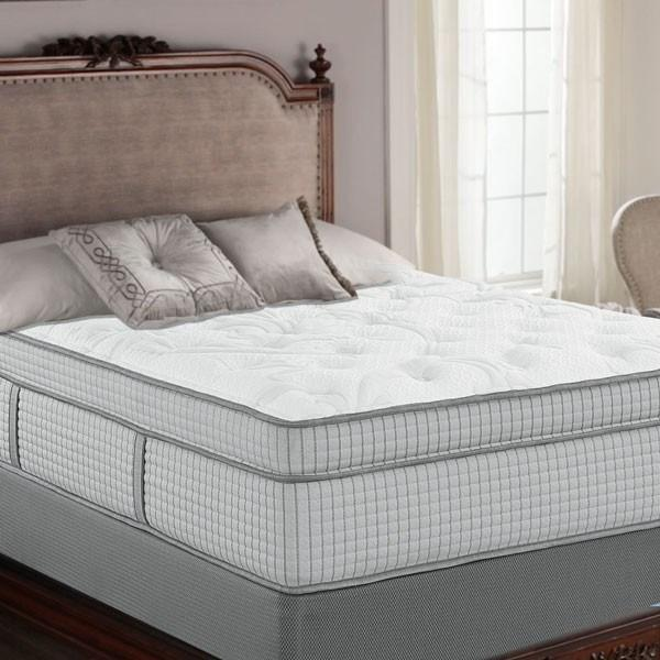 Restonic Biltmore Filigree Hybrid Euro Top Mattress - Private Event Sale Mattress Restonic
