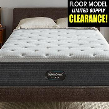 CLEARANCE Beautyrest Silver Grantley Plush Mattress Mattress Beautyrest
