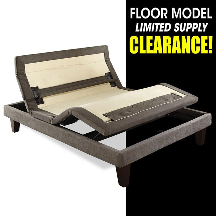Clearance - Serta Adjustable Base - Queen-Bed Frame-American Mattress