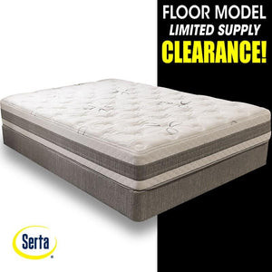 Clearance Serta Forestvale Plush Gel Memory Foam Mattress Set
