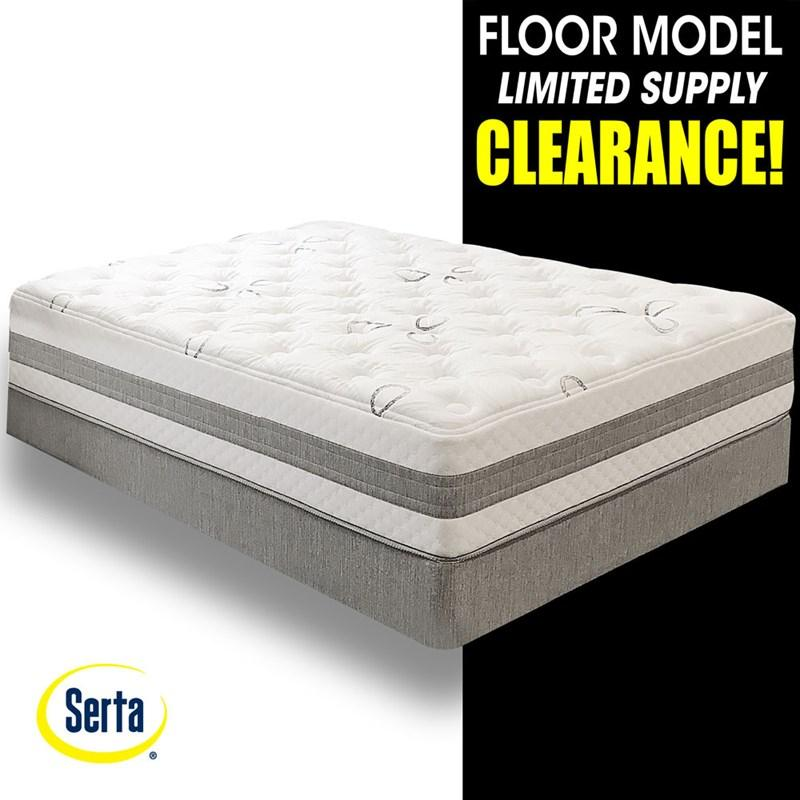 Clearance Serta Taramore Firm Gel Memory Foam Mattress Set