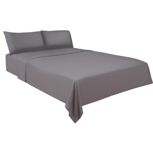 SlumberShield Charcoal Bedding Sheet Set Bed Sheets Slumbershield