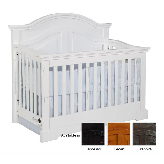 Lakeshore Curved Panel Conversion Crib-Crib-American Mattress