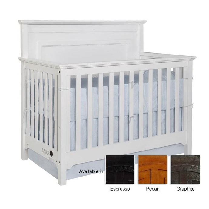 Lakeshore Panel Conversion Crib-Crib-American Mattress