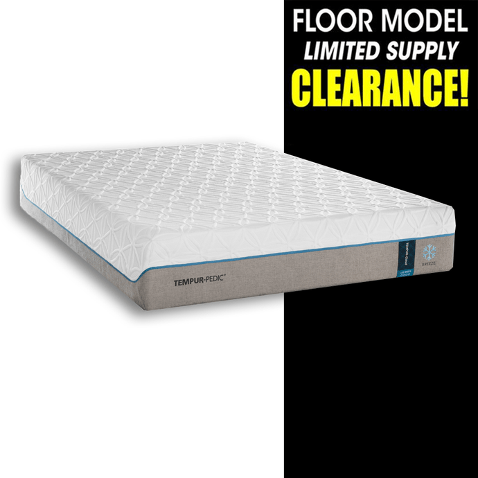 Clearance Tempur-Pedic Cloud Luxe Breeze Mattress