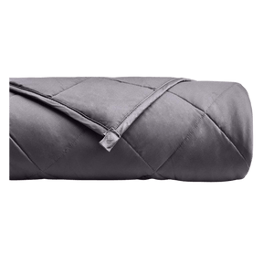 Dark Grey Weighted Blanket Weighted Blanket Slumbershield