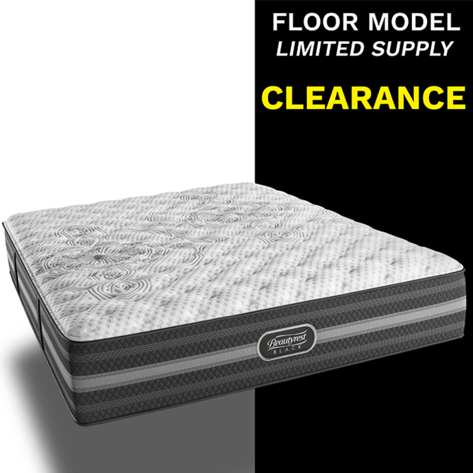 Clearance Beautyrest Black Calista Plush Mattress Mattress Beautyrest