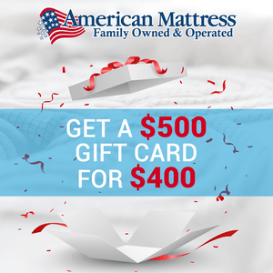 $500 Holiday Gift Card Gift Card American Mattress