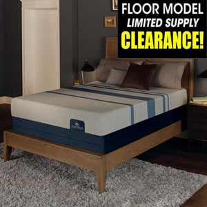 Serta iComfort Blue Max 1000 Plush Mattress Floor Sample Clearance Mattress Serta