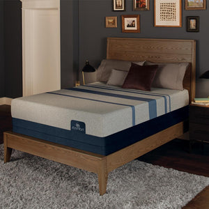 Serta iComfort Blue Max 1000 Plush Mattress Floor Model Clearance Mattress Serta