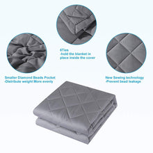 Light Grey Weighted Blanket Weighted Blanket Slumbershield