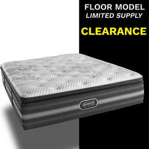 Clearance Beautyrest Black Katarina Plush Pillow Top Mattress Mattress Beautyrest