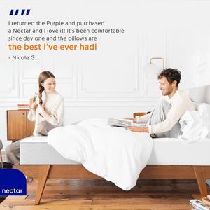 The Nectar Memory Foam Mattress Mattress Nectar