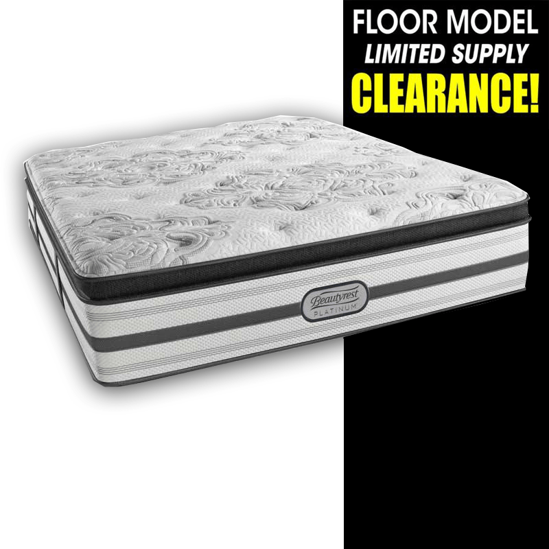 Clearance Beautyrest Platinum Miram Pillow Top Mattress Mattress Beautyrest