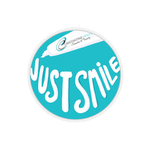 Just Keep Smiling - Toothpaste Sticker