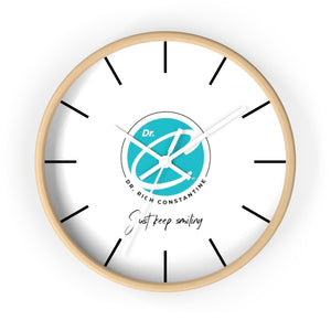 Dr. C Officially Licensed  Wall Clock - 3 Color Options