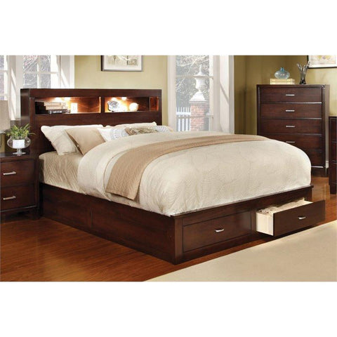 Furniture of America Gerico II Storage Bed SKU IDF-7291CH-CK Storage Bed Furniture of America