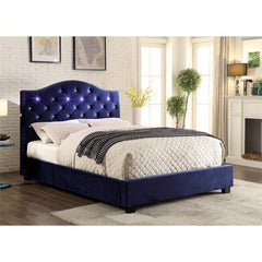 Furniture of America Cressida Platform Bed IDF-7421NV-CK