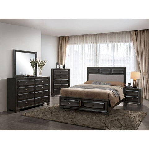 Furniture of America Clotilde Storage Bed IDF-7553 Storage Bed Furniture of America