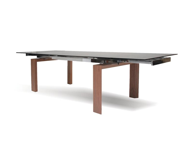 Mobital Tottenham Smoke Dining Table DTATOTTGREY Dining Tables Mobital