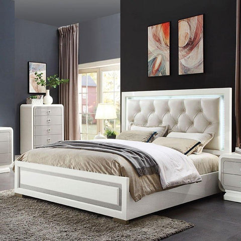 Acme Allendale Panel Bed 20200Q Bed Acme