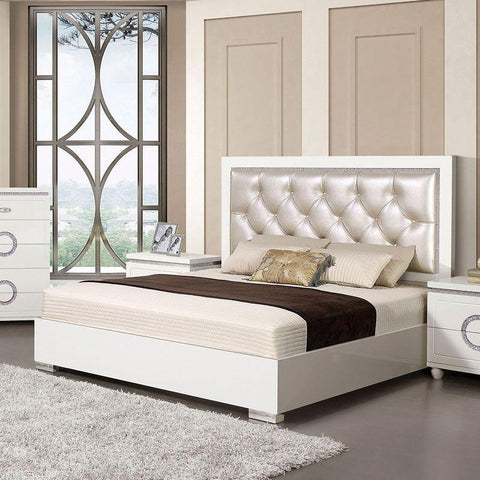 Acme Vivaldi Panel Bed 20240Q Bed Acme