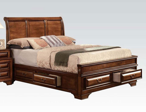 Acme Konane Storage Bed 20450Q Bed Acme