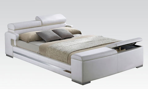Acme Layla Upholstered Storage Bed 20680Q